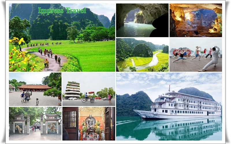 Hanoi Tam Coc Halong 5D4N with 4 star hotel and cruise